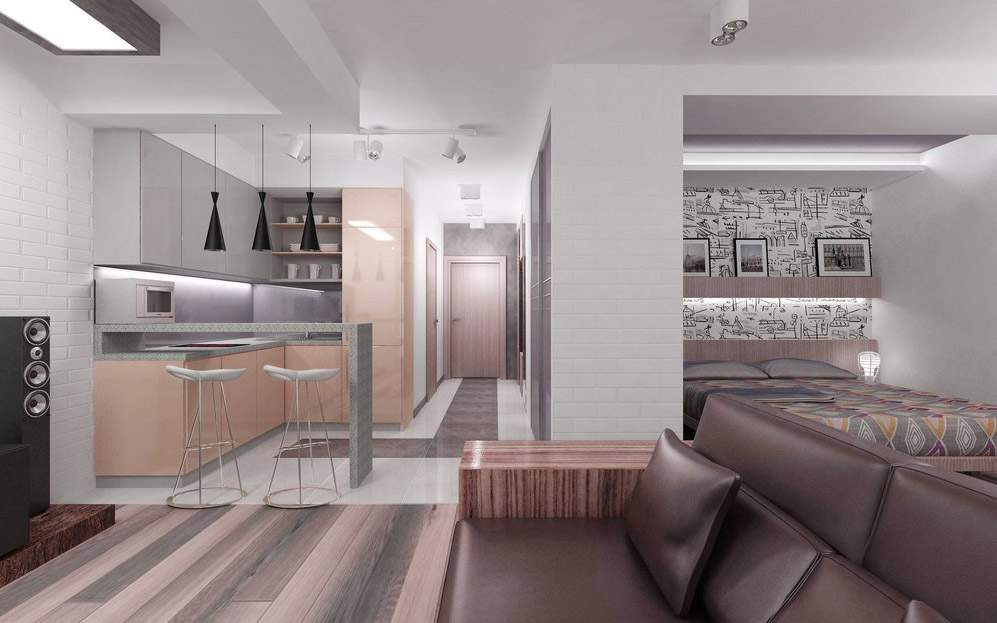 High tech style interior ideas