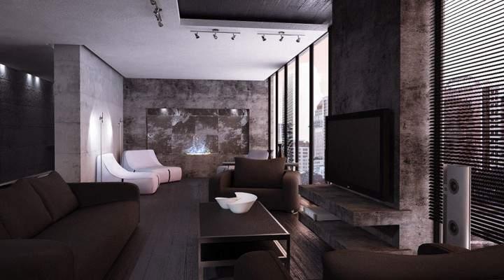 High Tech Style Interior Home Decor Design